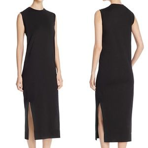 NWT DKNY pure side slit dress size S